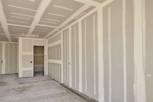 drywall contractor for new home builder